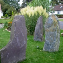 Megalith water features
