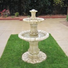 Marble 2 tier fountain