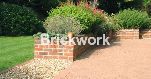 Brickwork by Shakespeares Landscapes