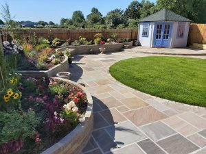 Extensive garden design project
